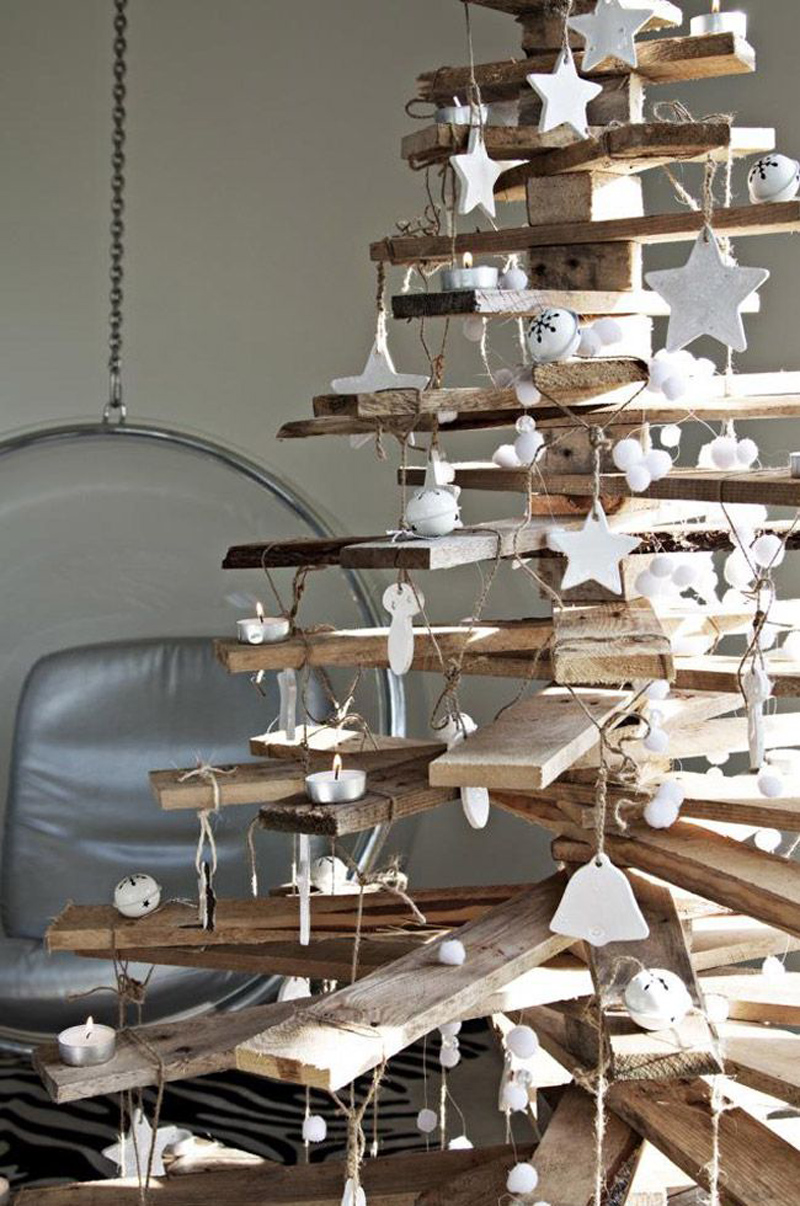 Modern Wooden Christmas Trees10