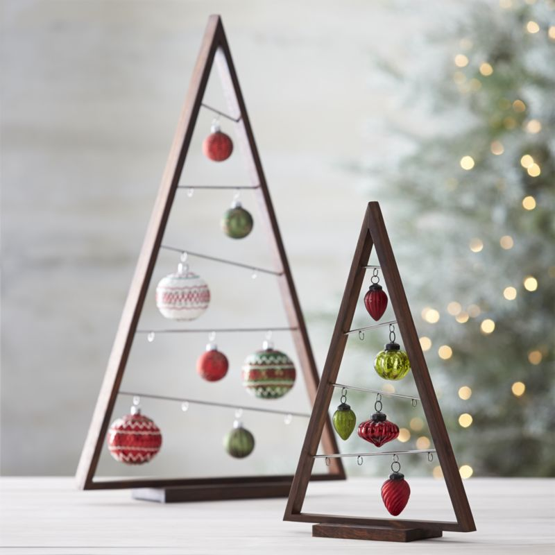 Modern Wooden Christmas Trees15