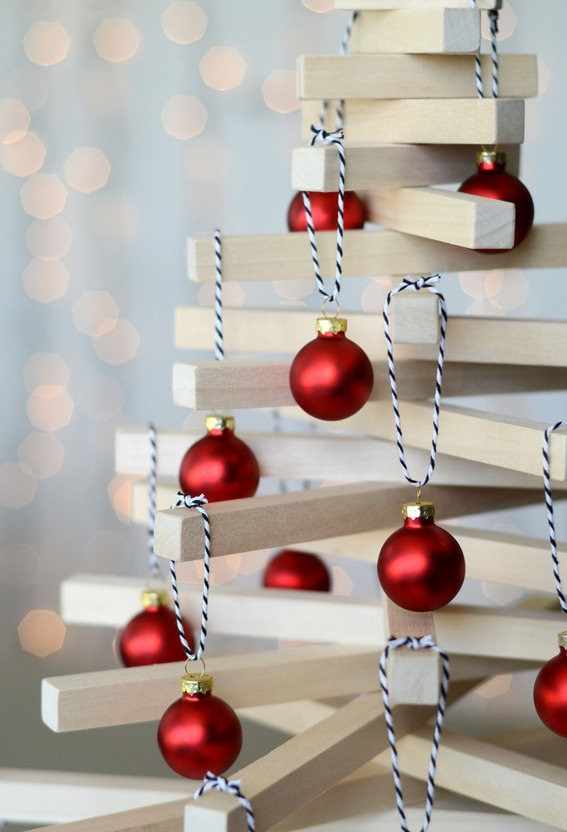 Modern Wooden Christmas Trees16