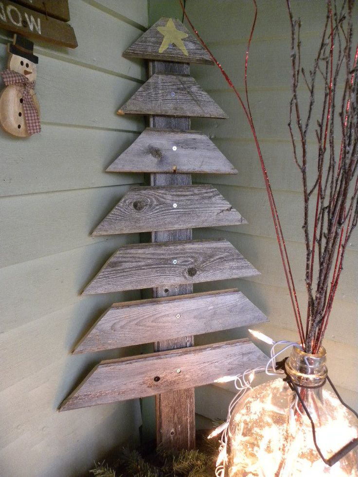 Modern Wooden Christmas Trees18