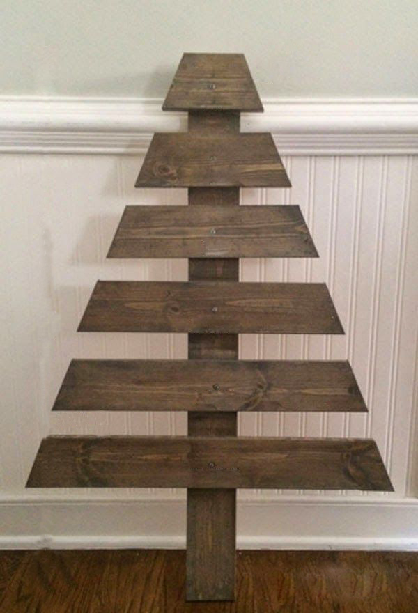 Modern Wooden Christmas Trees22