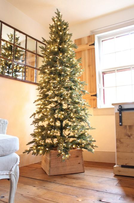 Modern Wooden Christmas Trees24