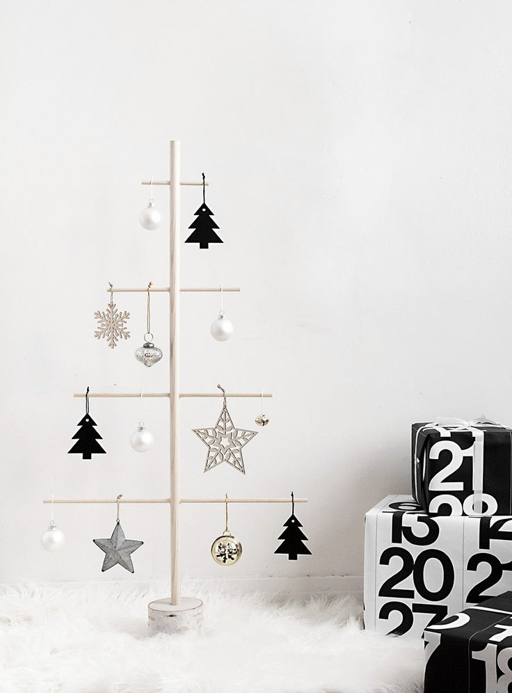 Modern Wooden Christmas Trees26