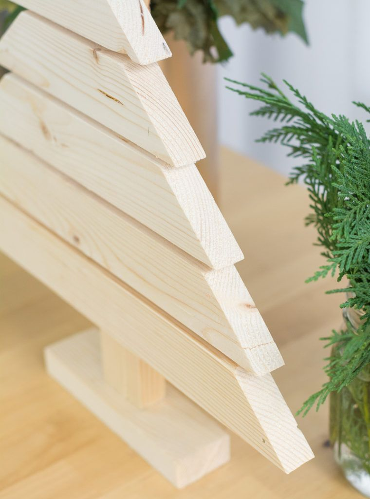 Modern Wooden Christmas Trees28