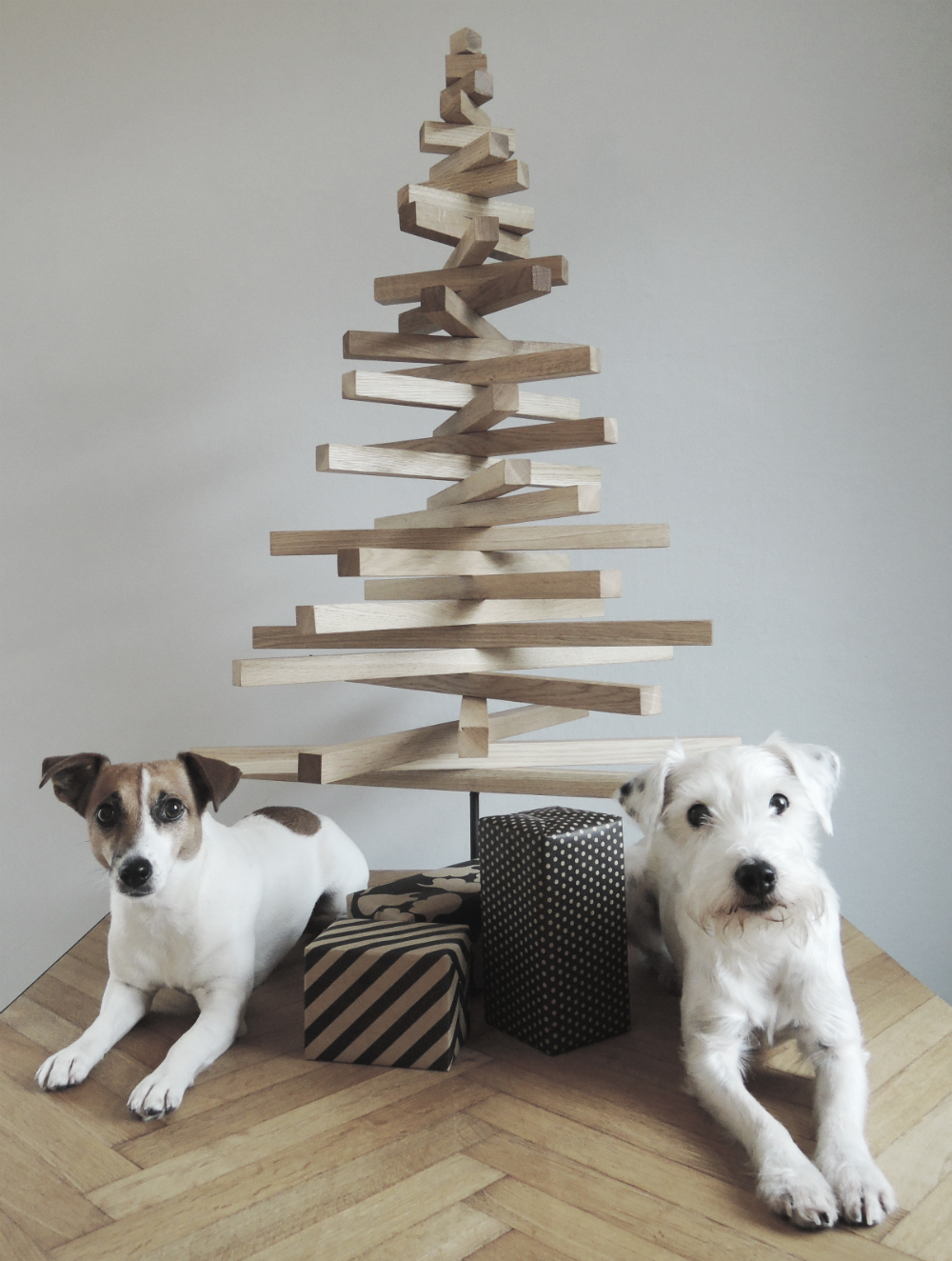Modern Wooden Christmas Trees3