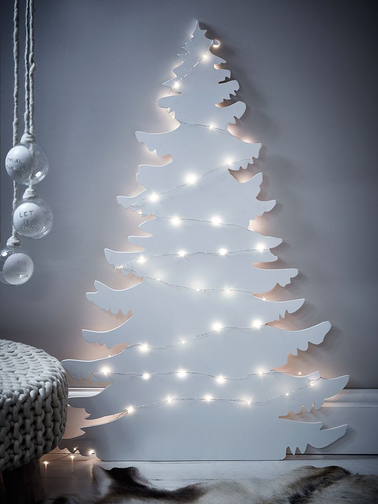 Modern Wooden Christmas Trees36