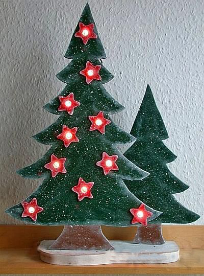 Modern Wooden Christmas Trees42