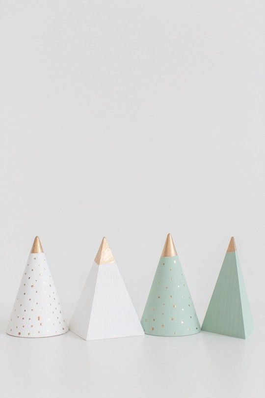 Modern Wooden Christmas Trees7