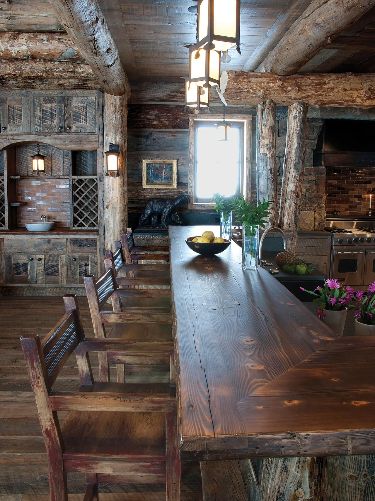 Rustic Kitchen Bar