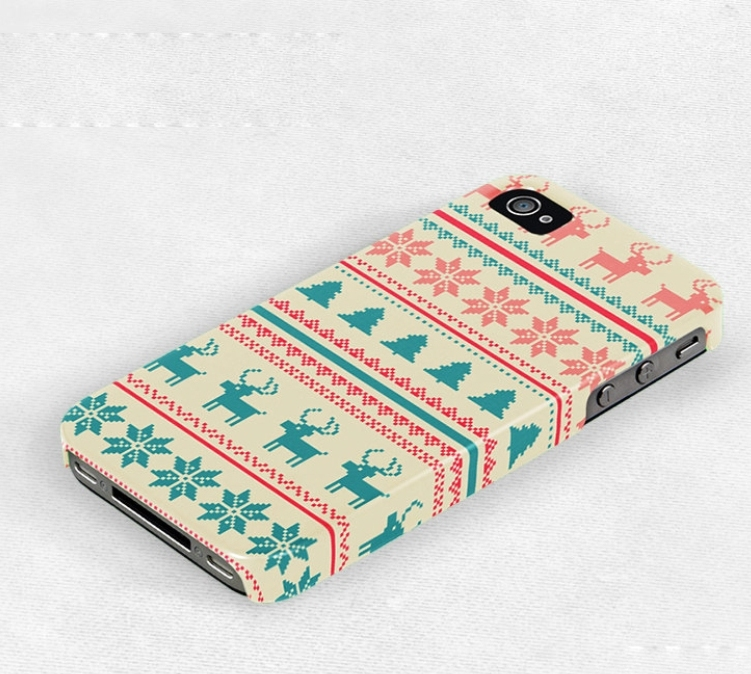Stylish Christmas iPhone Cases1