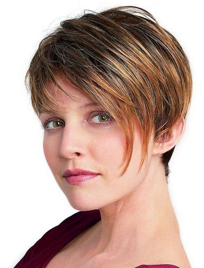 Stunning short hairstyles for gorgeous women 8