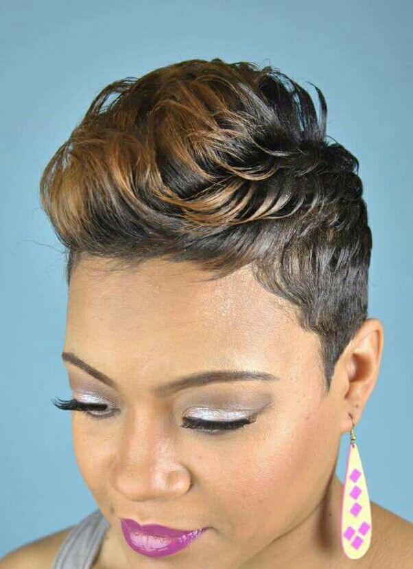 Emejing Hairstyles For Black Women With Short Hair Pictures Styles