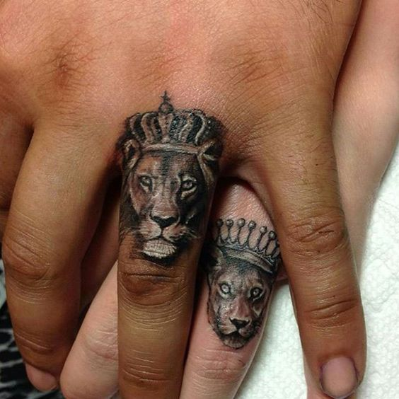 Awesome couple tattoos inspiration 10
