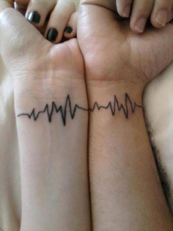 Awesome couple tattoos inspiration 16