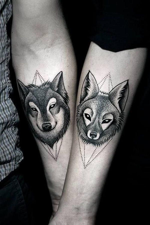 Awesome couple tattoos inspiration 2