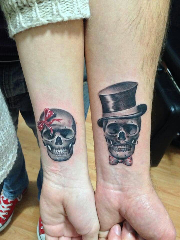 Awesome couple tattoos inspiration 26