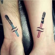 Awesome couple tattoos inspiration 9