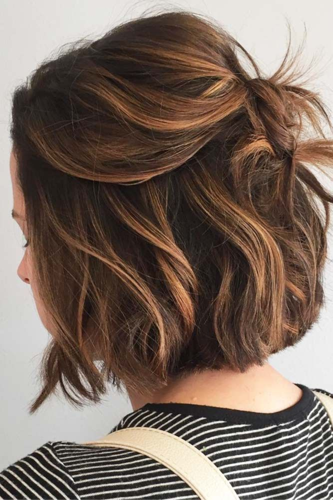 Gorgeous hairstyles for short hair 13