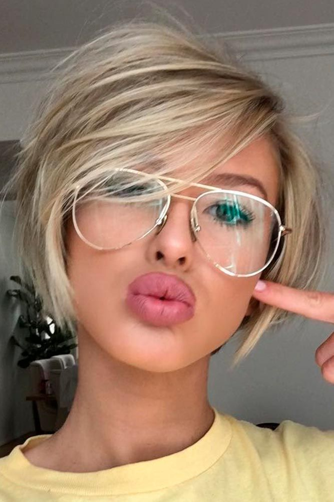 Gorgeous hairstyles for short hair 20