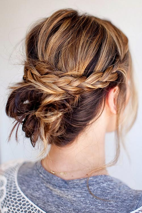 Gorgeous hairstyles for short hair 40