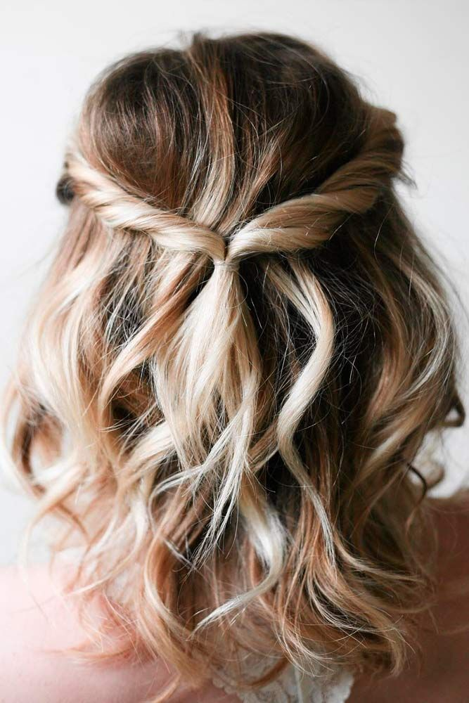 Gorgeous hairstyles for short hair 51
