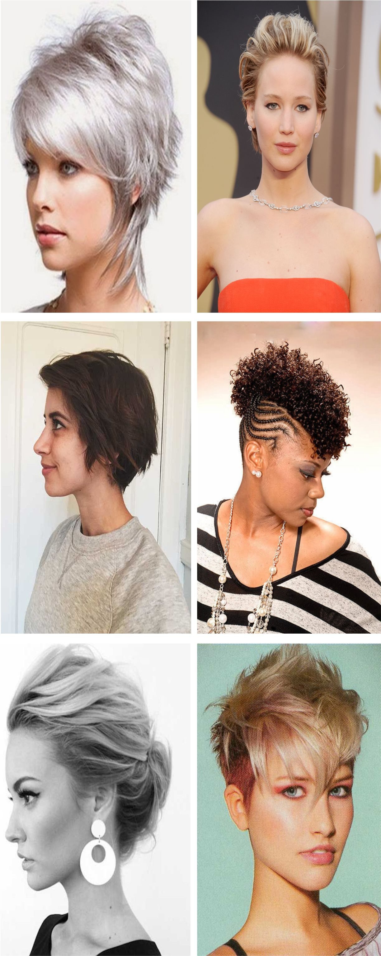 Gorgeous hairstyles for short hair women