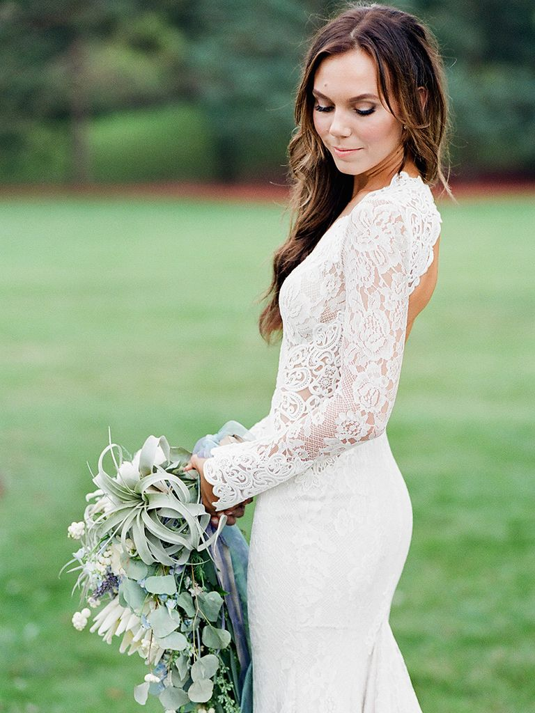 Gorgeous lace wedding dresses 12
