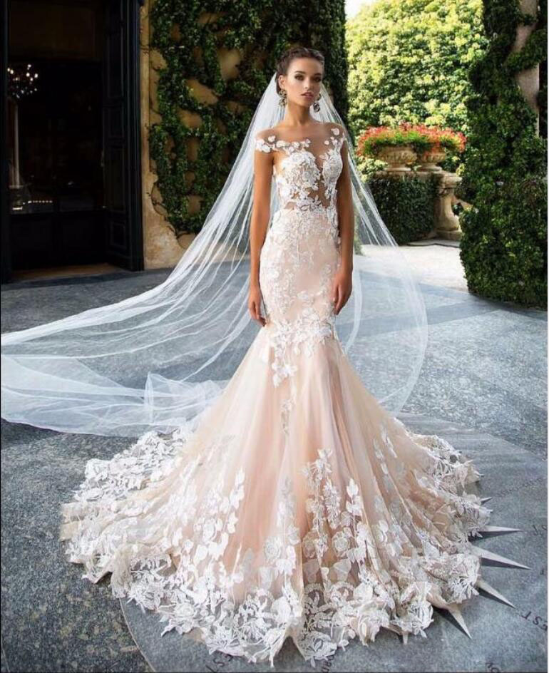 Gorgeous lace wedding dresses 13