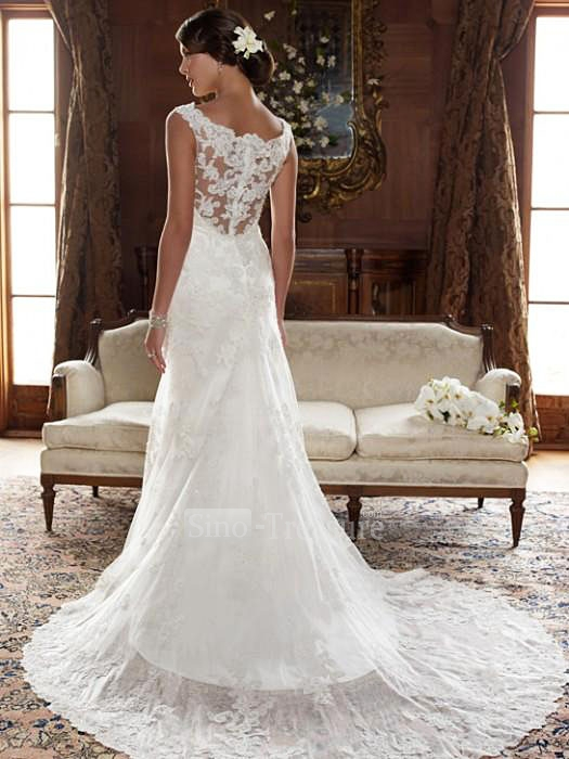Gorgeous lace wedding dresses 16
