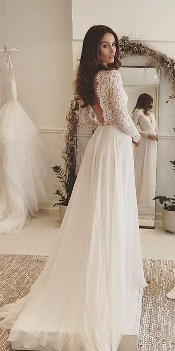 Gorgeous lace wedding dresses 17