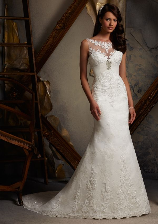 Gorgeous lace wedding dresses 19
