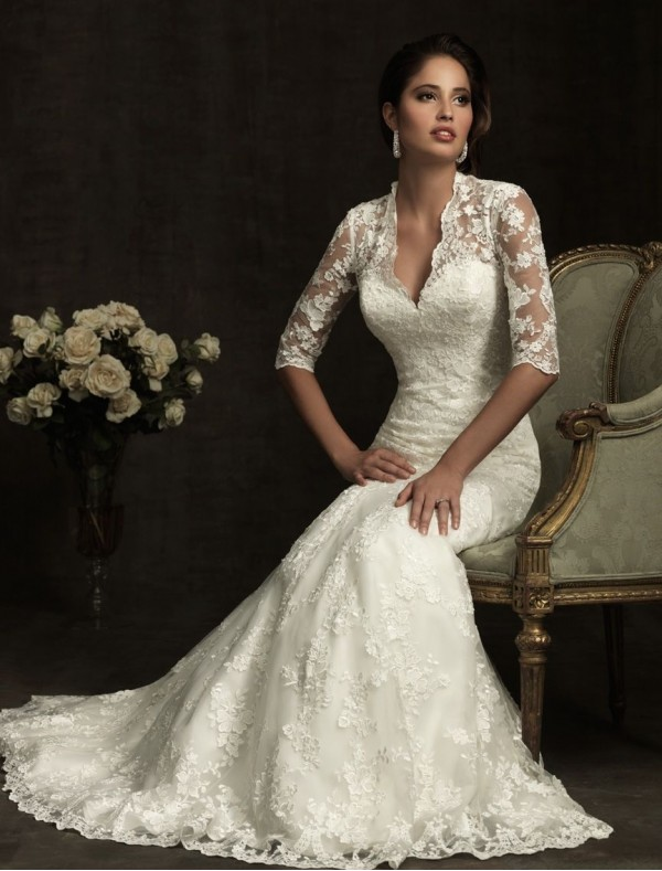 Gorgeous lace wedding dresses 20
