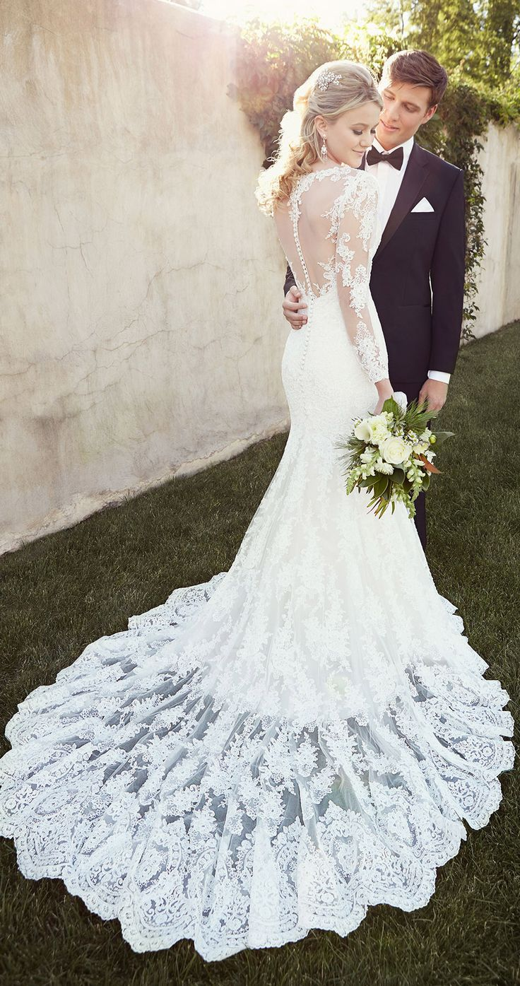 Gorgeous lace wedding dresses 23
