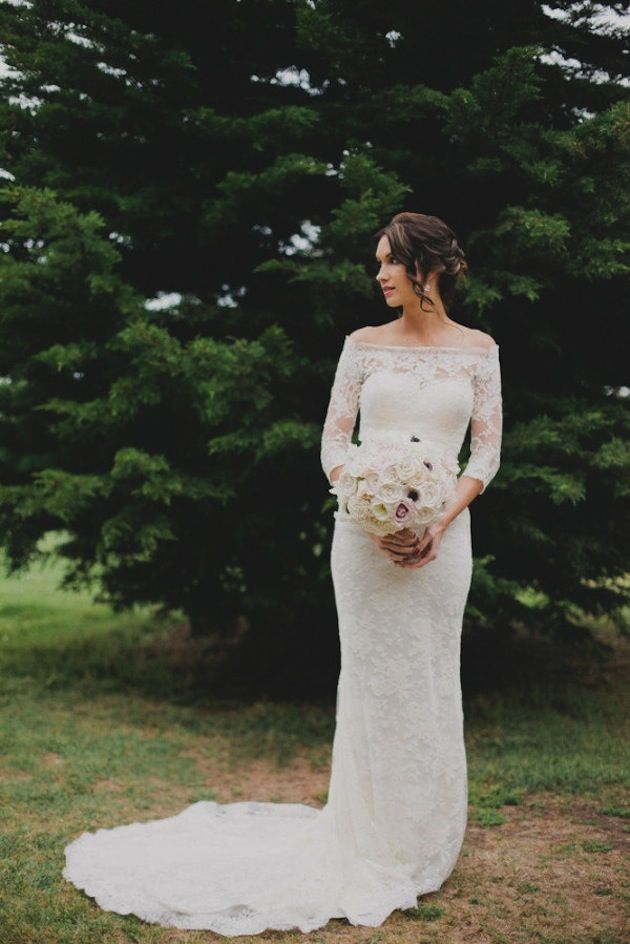 Gorgeous lace wedding dresses 26
