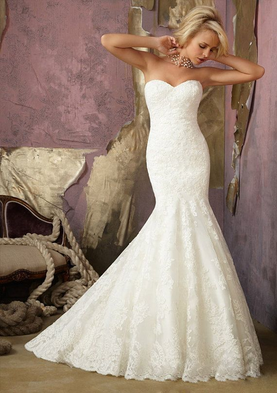 Gorgeous lace wedding dresses 28