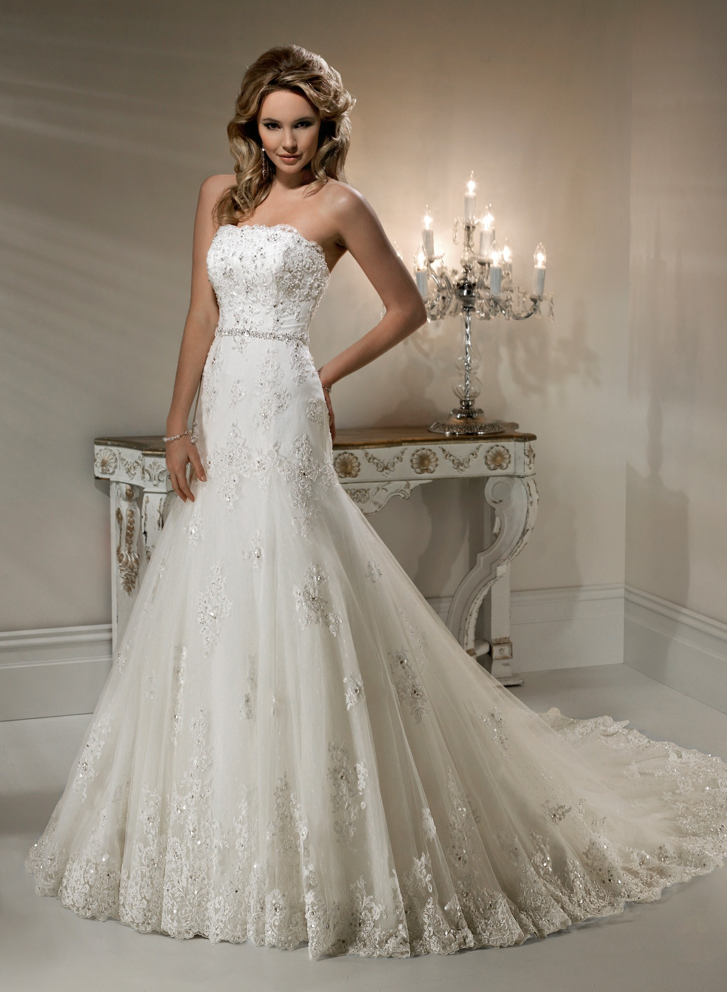 Gorgeous lace wedding dresses 4