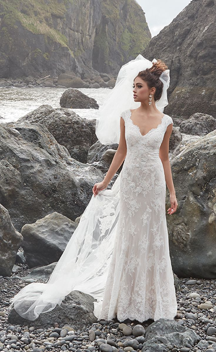 Gorgeous lace wedding dresses 7