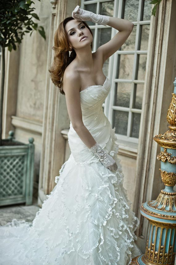 Gorgeous lace wedding dresses 9