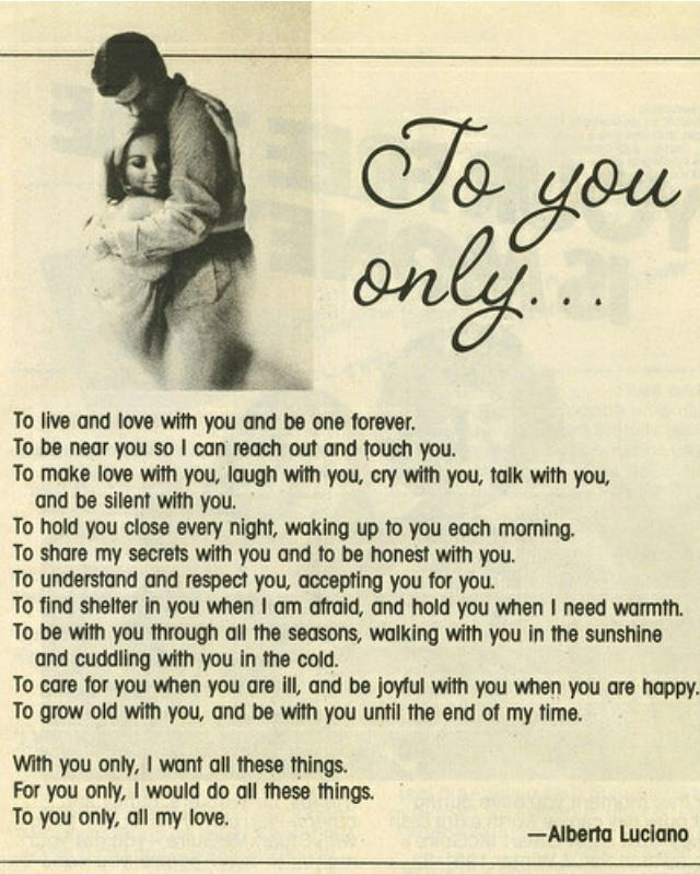 Romantic cute love poems collection 27