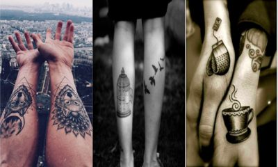 28 Awesome Couple tattoos inspiration