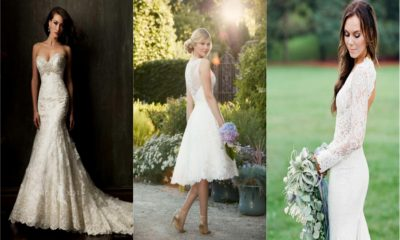 34 Gorgeous Lace Wedding Dresses
