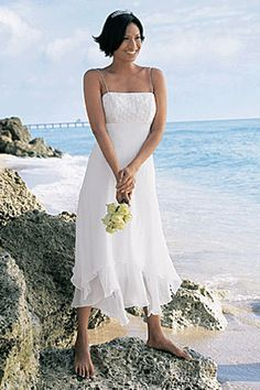 Amazing casual wedding dresses ideas 10