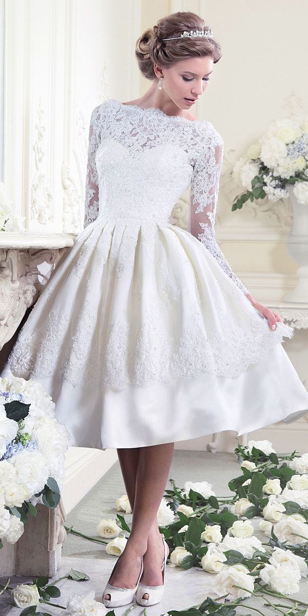 Amazing casual wedding dresses ideas 14