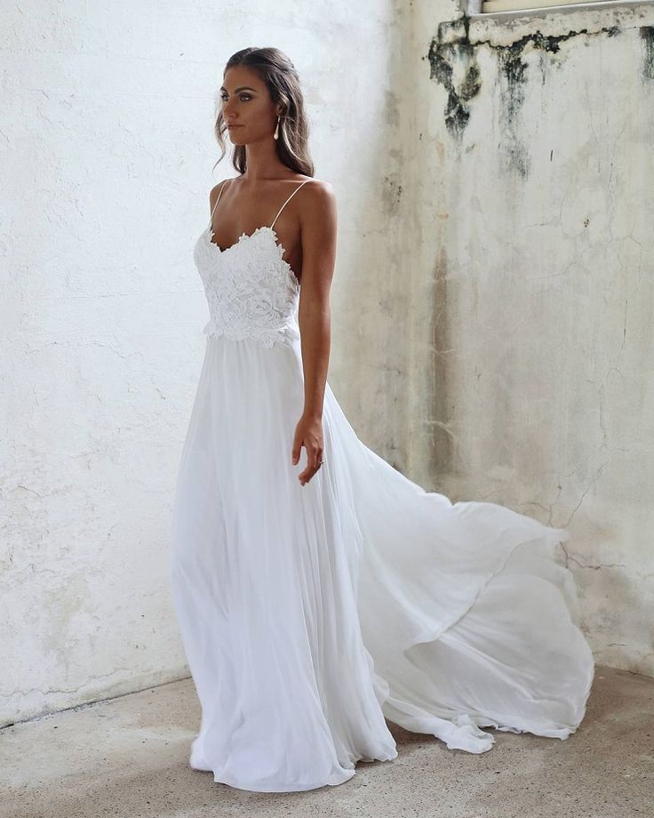 Amazing casual wedding dresses ideas 2
