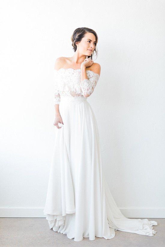 Nice Amazing Casual Wedding Dresses Ideas 21
