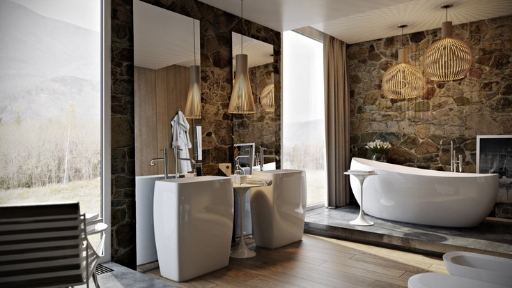 Amazing master bathroom ideas 11