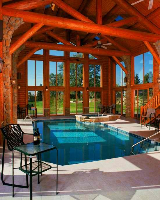 Awesome indoor swimming pool ideas 13