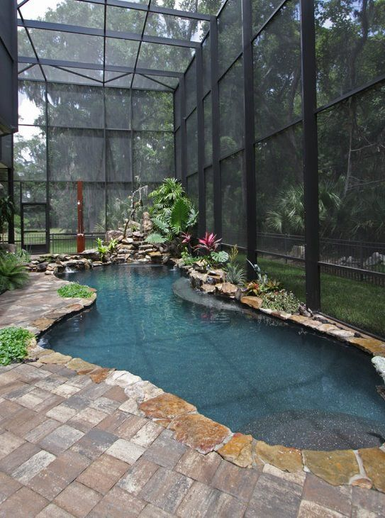 Awesome indoor swimming pool ideas 18