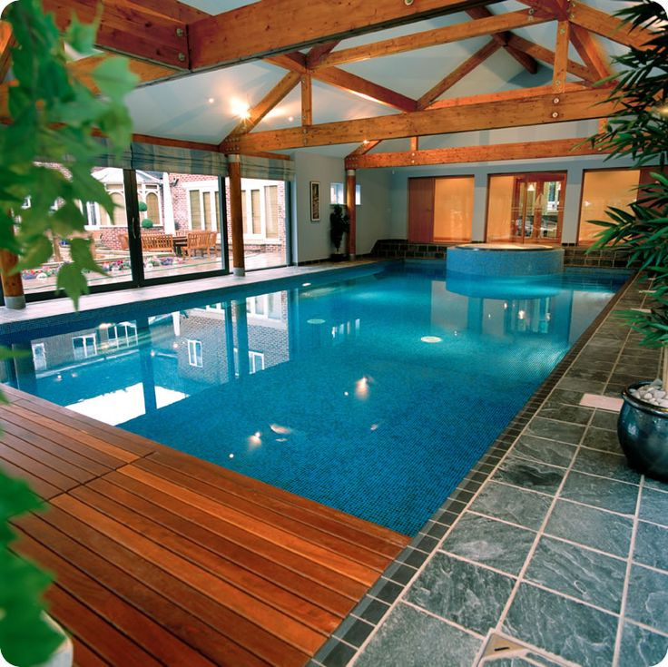 Awesome indoor swimming pool ideas 27