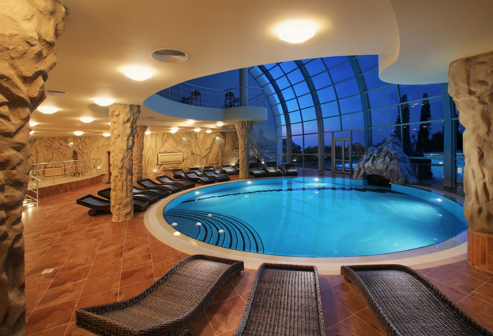 Awesome indoor swimming pool ideas 29